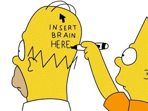 Simpsons verstand hersendood