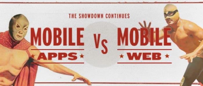 Mobiele app versus mobiele website