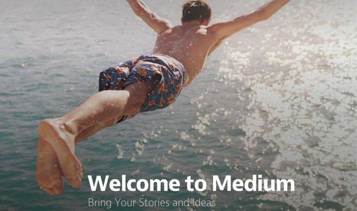 Medium is een mooi platform