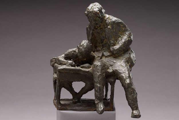 Voorstudie van het beeld van Theo Thijssen (Amsterdam Museum)