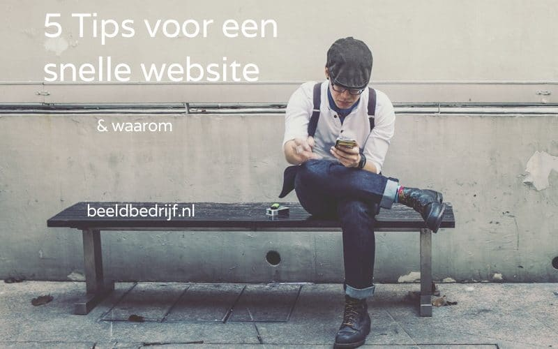 Waarom een snelle website belangrijk is
