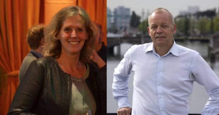 Arda Gillessen en Theo Dohle van Welcom Amsterdam