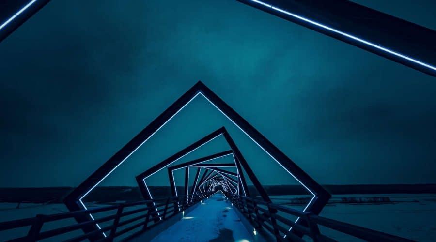 moderne brug in Iowa