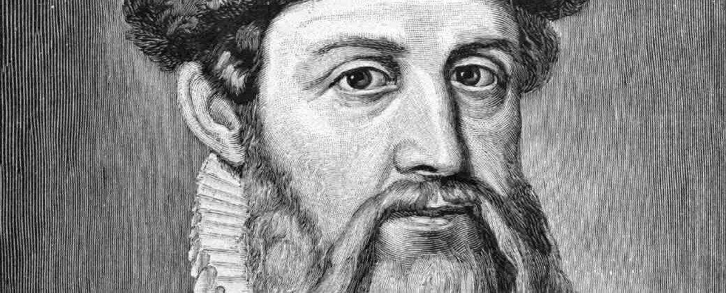 Gutenberg editor eerbewijs aan Johannes Gutenberg (1397-1468)